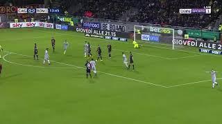 Cagliari Roma 2-2 Highlights 8/12/2018 ITA