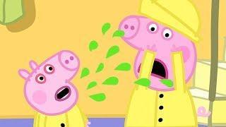 Peppa Pig Italiano - George prende il raffreddore - Collezione Italiano - Cartoni Animati