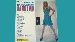 TODAS LAS CANCIONES DE SAN REMO EN ESPAÑOL (Vol. II, 1967)