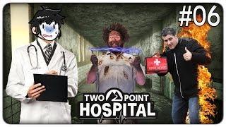 FULMINI E INCENDI NEL VECCHIO OSPEDALE ABBANDONATO | Two Point Hospital - ep.06 [ITA]
