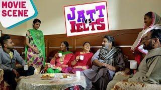 JATT vs IELTS | Movie Scene | Ravneet, Hobby Dhaliwal, Anita Devgan | Latest Punjabi Movies 2018