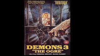 "DEMONS 3 ""THE OGRE""  (1988 Film in Italiano) Genere: Horror"