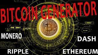 Generate Bitcoin - Claim 0.25 - 1 Bitcoin - sorteio de netflix telegram