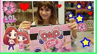 POP STAR di Cicaboom, PAILLETTES ovunque!! Box INTERO unboxing by Lara e Babou