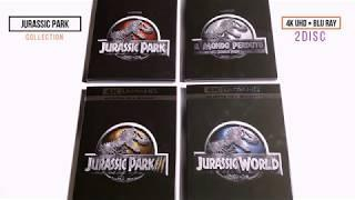 Jurassic Park Collection UltraHD + Blu Ray - Video Unboxing