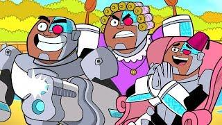 Teen Titans Go! in Italiano | Super Poteri: Cyborg | DC Kids