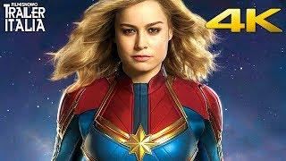 CAPTAIN MARVEL | Primo Trailer Italiano - 4K ULTRA HD
