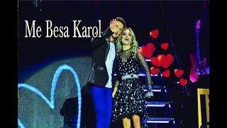 Ruggero besa a Karol y dice algo romántico para ella y dejarla deretida de amor