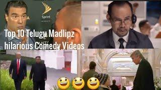 Madlipz Telugu Top 10 funny comedy videos Most liked videos In Madlipz
