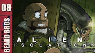 Alien Isolation | Let's Play Ep. 8 | Super Beard Bros.