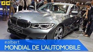BMW Serie 3 2019 | A Parigi debutta la nuova generazione G20 [ENGLISH SUB]